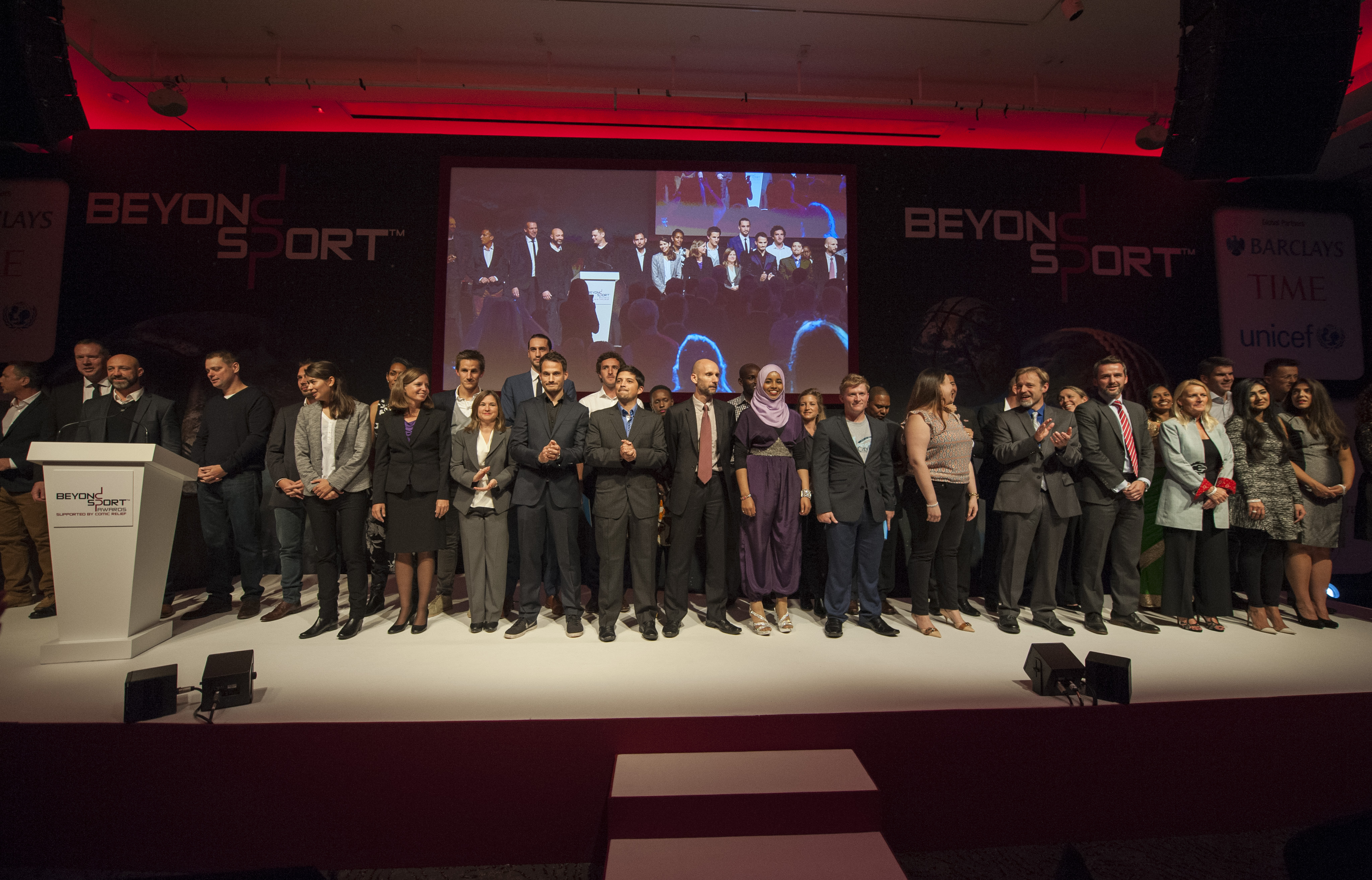 Beyond Sport Awards  Winners Announced